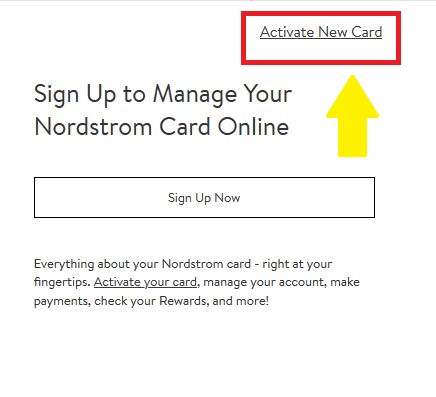 nordstrom Active new card