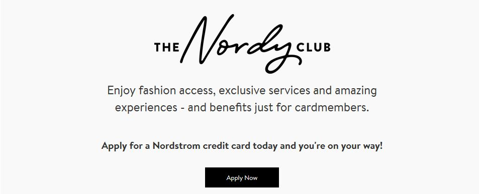 Apply For nordstrom credit card