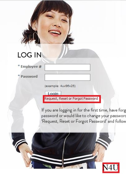 reset mynordstrom password