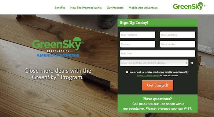 greensky sign-up