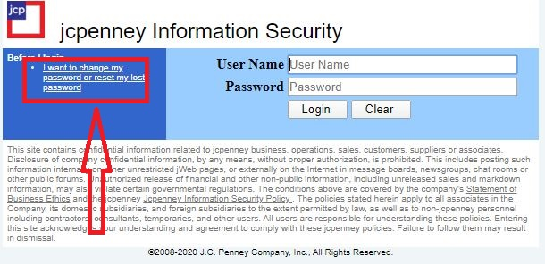 How To Reset JCPenney Password