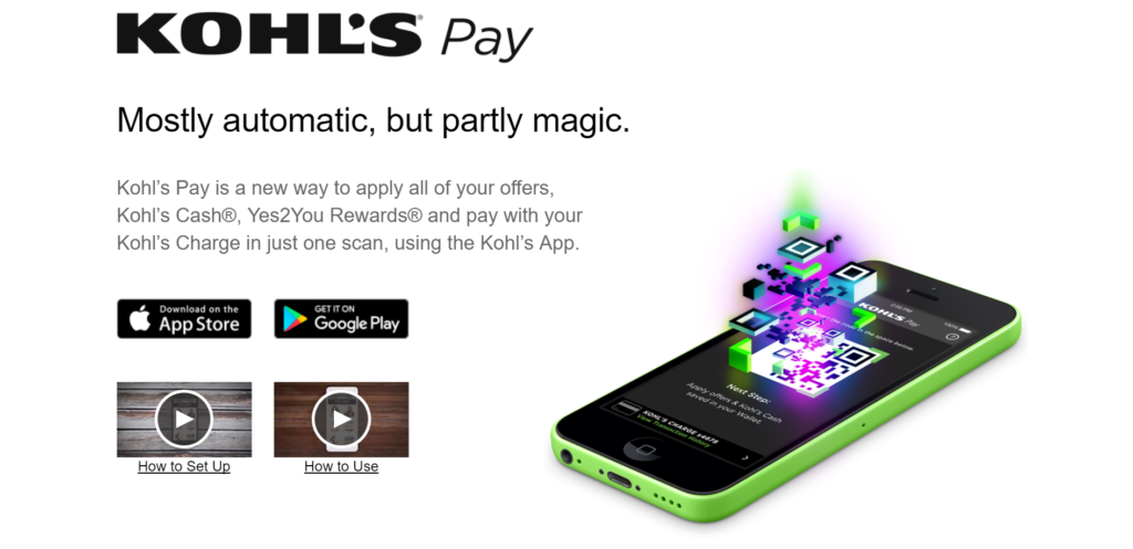 Kohls Pay Bill App