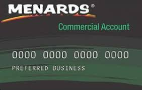 menards credit card login
