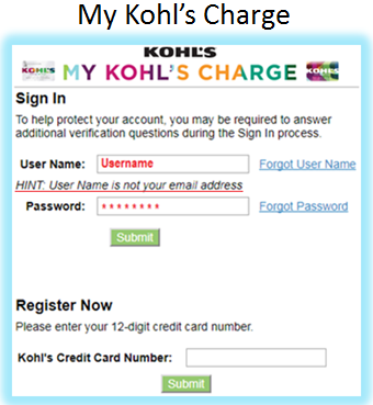 Mykohlscharge login
