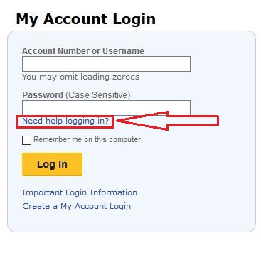 Southwest Airlines reset password