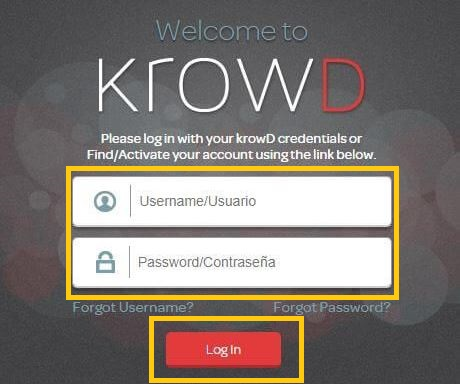 krowd darden login
