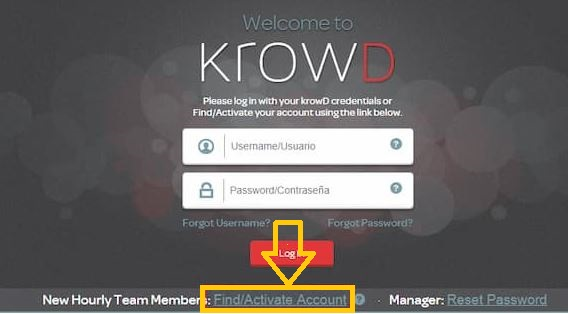 krowd darden sign up