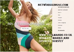 www tellmands co uk Marks and Spencer survey