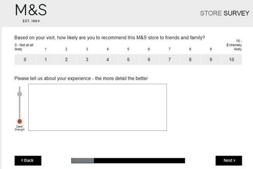 www tellmands co uk - Win £250 Marks and Spencer Survey