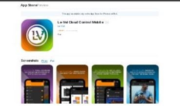 Level Thrive mobile application
