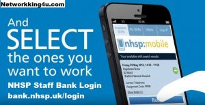 nhsp staff bank login