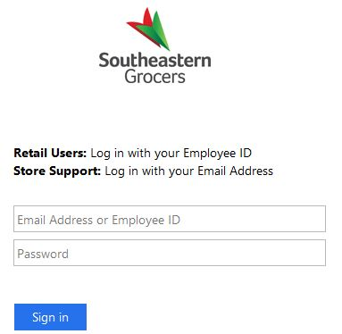 segrocers login